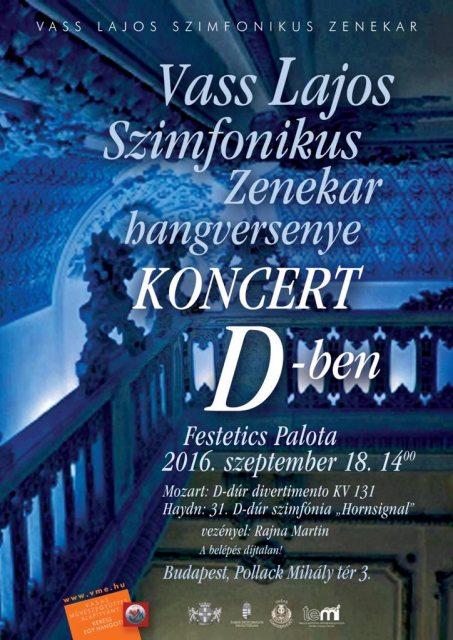 Koncert D-ben