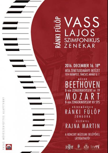 Ránki Fülöp és a Vass Lajos Szimfonikus Zenekar koncertje